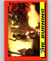 1984 Topps Indiana Jones and the Temple of Doom #47 The Burning