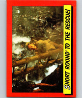 1984 Topps Indiana Jones and the Temple of Doom #48 Short Round to the Rescue!