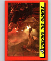 1984 Topps Indiana Jones and the Temple of Doom #49 Attacking the Guards