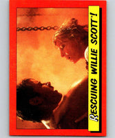 1984 Topps Indiana Jones and the Temple of Doom #52 Rescuing Willie Scott!