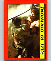 1984 Topps Indiana Jones and the Temple of Doom #62 Belt to Oblivion!