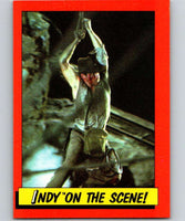 1984 Topps Indiana Jones and the Temple of Doom #66 Indy on the Scene!