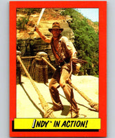 1984 Topps Indiana Jones and the Temple of Doom #79 Indy in Action!