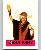 1984 Topps Indiana Jones and the Temple of Doom Stickers #7 Mola Ram!