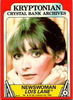 1980 Topps Superman II #4 Newswoman Lois Lane