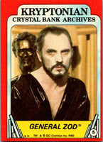 1980 Topps Superman II #5 General Zod