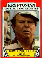 1980 Topps Superman II #9 Bumbling Crook Otis