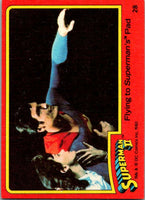 1980 Topps Superman II #21 The Niagara Falls Affair