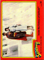 1980 Topps Superman II #23 A Child In Danger!