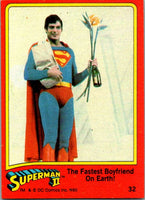 1980 Topps Superman II #25 Reporters on the Job!
