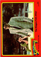 1980 Topps Superman II #36 Ursa's Deadly Heat Rays