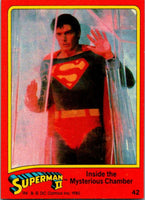 1980 Topps Superman II #42 Inside the Mysterious Chamber