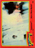 1980 Topps Superman II #44 Superman .... Now a Mere Mortal!
