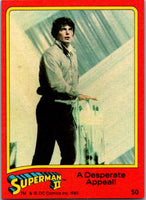 1980 Topps Superman II #50 A Desperate Appeal!