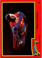 1980 Topps Superman II #52 Back in Action!