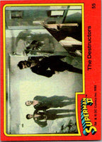 1980 Topps Superman II #55 The Destructors