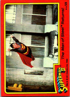 1980 Topps Superman II #59 The Man of Steel Returns!