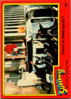 1980 Topps Superman II #62 Panic in Metropolis