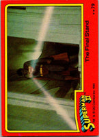 1980 Topps Superman II #79 The Final Stand