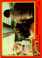 1980 Topps Superman II #85 Getting Even/Superman style!