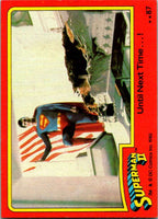 1980 Topps Superman II #87 Until Next Time ...!