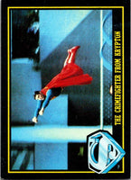 1983 Topps Superman III #5 The Crime-Fighter from Krypton