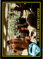 1983 Topps Superman III #11 In Perry White's Office