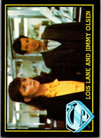 1983 Topps Superman III #12 Lois Lane and Jimmy Olson