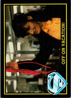 1983 Topps Superman III #14 Off on Vacation!