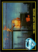 1983 Topps Superman III #16 The Chemical Plant Disaster