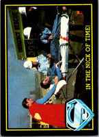 1983 Topps Superman III #24 In the Nick of Time!