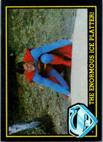1983 Topps Superman III #26 The Enormous Ice Platter!