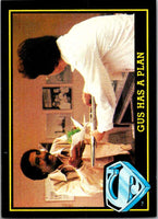 1983 Topps Superman III #30 Gus Has a Plan