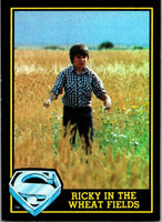 1983 Topps Superman III #35 Ricky in the Wheat Fields