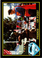 1983 Topps Superman III #51 Friends ... or Foes?