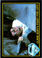 1983 Topps Superman III #65 Clark Kent's Fight for Life!