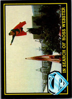 1983 Topps Superman III #70 In Search of Ross Webster