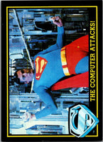 1983 Topps Superman III #75 The Computer Attacks!