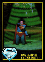 1983 Topps Superman III #80 Enveloped by the Ray!