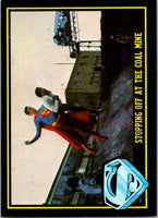 1983 Topps Superman III #93 Stopping Off at the Coal Mine