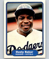 1982 Fleer #1 Dusty Baker Dodgers