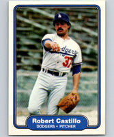 1982 Fleer #2 Robert Castillo Dodgers