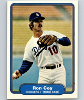 1982 Fleer #3 Ron Cey Dodgers
