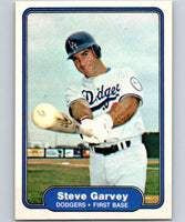1982 Fleer #5 Steve Garvey Dodgers