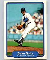 1982 Fleer #6 Dave Goltz Dodgers