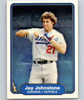 1982 Fleer #10 Jay Johnstone Dodgers