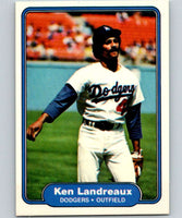 1982 Fleer #11 Ken Landreaux Dodgers