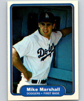 1982 Fleer #13 Mike Marshall RC Rookie Dodgers