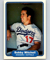 1982 Fleer #14 Bobby Mitchell RC Rookie Dodgers