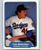 1982 Fleer #16 Tom Niedenfuer RC Rookie Dodgers